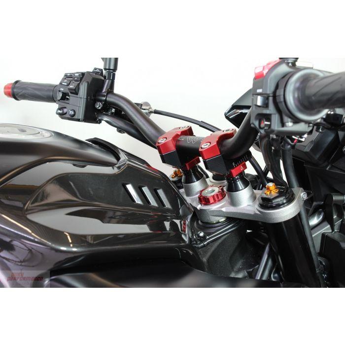 Gilles Tooling Adjustable Riser Kit Yamaha FZ-10 / MT-10