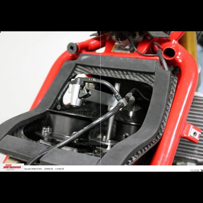 Jetprime Carbon Fiber Airbox Ducati 848/EVO - 1098/R - 1198/R