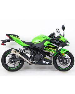 Hindle EVO Megaphone Full Exhaust (Street) '18- Kawasaki EX400 Ninja