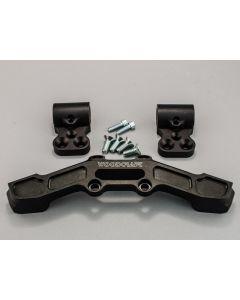 Woodcraft Clipon Risers w/ Adapter Plate & Bars Ducati Scrambler