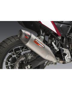 Yoshimura RS-12 Stainless Slip-On Exhaust, w/ Stainless Muffler 2021- Yamaha Tenere 700