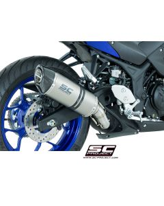 SC Project Oval Exhaust Yamaha YZF-R3