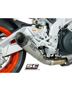 SC Project S1 Silencer 2017-2018 Aprilia Tuono V4 1100RR / Factory