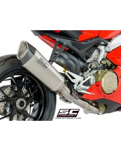 SC-Project SC1-R High Mount Exhaust 2018-2019 Ducati Panigale V4