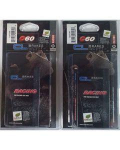 CL Brakes C60 Racing Performance Brake Pads Honda CBR600RR / CBR1000RR / CB1000R