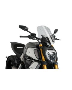 Puig Naked New Generation Adjustable Touring Screen 2019-  Ducati Diavel 1260/S