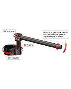 ABM multiClip Sport Adjustable Riser Clip-on Kit Suzuki GSX-R1000
