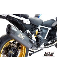 "SC-Project Matte Grey Titanium ""Adventure "" Exhaust 2019- BMW R1250GS"