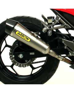 Arrow X-Kone Exhaust 2013-2016 Kawasaki Ninja 250 / 300