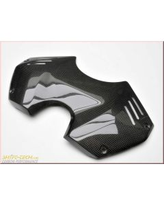 Shift-Tech Carbon Tank Cover (Front) GP Style - Ducati Panigale V4/S