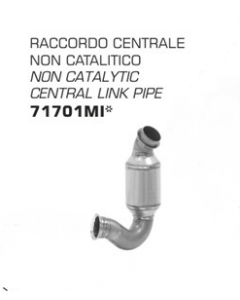 Arrow Racing Non-Catalytic Midpipe for KTM 790 Duke