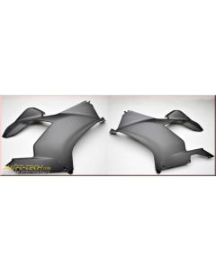 Shift-Tech Carbon R & L Upper Side Fairing Set, Matte Ducati Panigale V4/S