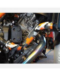 Samco Sport Y-Piece Race Design Silicone Radiator Hose Kit '13-'19 KTM 1290 Super Duke R / GT / 1290 Super Adventure / 1190 Adventure