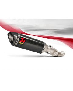 Akrapovic Slip-on Line (Carbon) Exhaust EC ECE-Compliant 2015-2016 Aprilia RSV4 RR / RF
