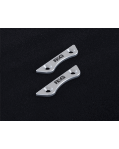 R&G Racing Rear Footrest Blanking Plates '17- Z900 '18- Z900RS