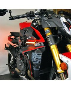 New Rage Cycles LED Front Turn Signals for MV Agusta Brutale 1000
