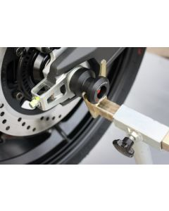 GSG Mototechnik Rear Axle Slider / Paddock Stand Adapter 2015- Ducati Scrambler