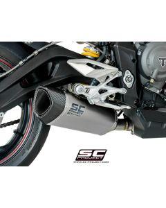 SC-Project SC1-R Exhaust 2018-2019 Triumph Street Triple 765 R/S/RS