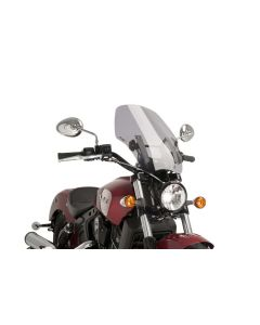 Puig Naked New Generation Touring Windshield 2015-2019 Indian Scout