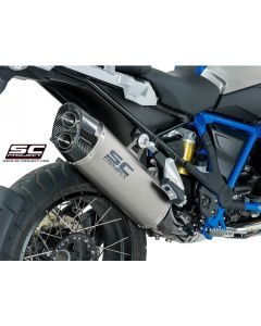 "SC-Project Titanium ""Adventure"" Exhaust 2019- BMW R1250GS"
