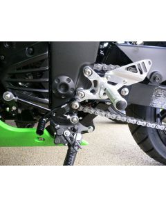 Gilles Tooling Rearset FXR Kawasaki Ninja 300R / Z300