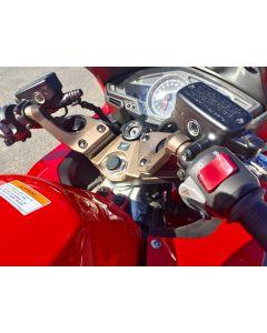 Helibars Tour Performance Handlebar Risers 2015- Honda VFR800