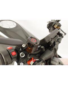 Gilles Tooling Front Brake Reservoir Container Cover 2020- Ducati Streetfighter V4