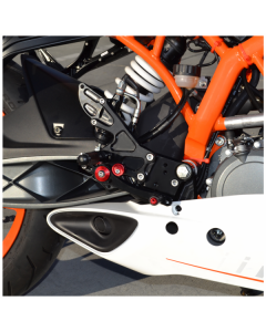 Hotbodies MGP Rear Sets 2015-2017 KTM RC390 / 390 Duke