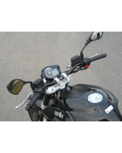 "LSL X-Bar (1-1/8"" Fat Bar) Handlebar Clamps 2008-2012 Aprilia Shiver / SXV 750 Dorsoduro"