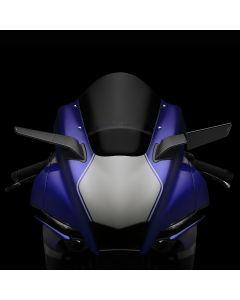 "RIzoma ""STEALTH"" Sport Mount Style Winglet Mirror Set 2020-2021 Yamaha YZF-R1 / YZF-R1M"