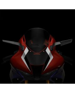 "Rizoma ""STEALTH"" Sport Mount Style Winglet Mirror Set 2020-2021 Honda CBR1000RR-R / SP"