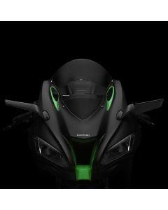 """Rizoma """"STEALTH"""" Sport Mount Style Winglet Mirror Set 2019-2020 Kawasaki ZX0-10R / ZX-10RR"""