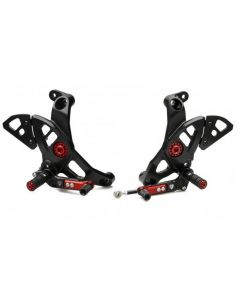 CNC Racing Adjustable Rearsets Ducati SuperSport / Monster 1200