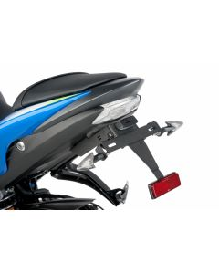 Puig License Plate Support 2015-2016 Suzuki GSX-S1000F