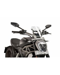Puig Naked New Generation Windscreen 2016- Ducati X Diavel / S
