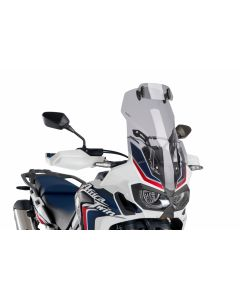 Puig Touring Windscreen with Adjustable Visor Honda CBRF1000L Africa Twin