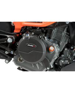 Puig Engine Protective Cover Set '16-'19 KTM 390 Duke / '17-'19 RC390