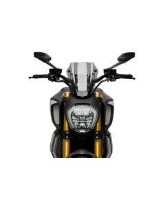 Puig Adjustable Sport Screen 2019- Ducati Diavel 1260/S