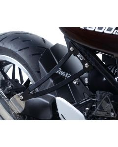 R&G Exhaust Hanger with Footrest Blanking Plate 2018- Kawasaki Z900RS
