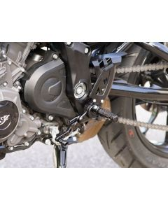 Wunderkind Adjustable Rear Set Kit, Street 2019-2020 Indian FTR1200/S