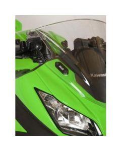 R&G Mirror Block-off Plates 2013-2016 Kawasaki ZX-6R / Ninja 300
