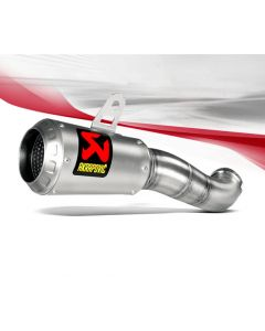 Akrapovic Slip-on Line (Stainless) Exhaust 2015-2016 Yamaha YZF-R3