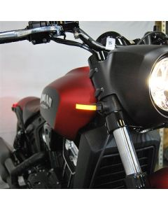 New Rage Cycles Indian Scout Bobber LED Front/Rear Turn Signals