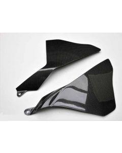Shift-Tech Carbon Fiber Right & Left Fairing Cover 2015- Yamaha YZF-R1 / R1M