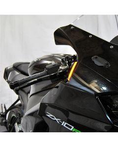 New Rage Cycles Front Turn Signal Set 2020- Kawasaki ZX-10R
