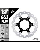 Galfer Standard Floating Wave Rotor, Front BMW F650 GS