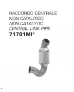 Arrow Racing Non-Catalytic Midpipe for KTM 790 Duke