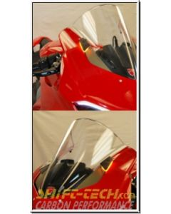 Ducati Panigale V4/S Front LED Turn Signals / Mirror Block-off Kit