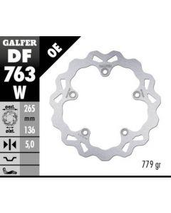 Galfer Standard Solid Mount Wave Rotor, Rear '09-'15 BMW K1300S