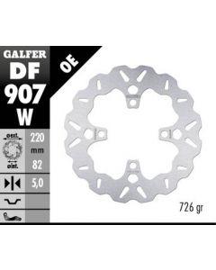 Galfer Standard Solid Mount Wave Rotor, Rear '07-'15 Triumph Daytona 675/R